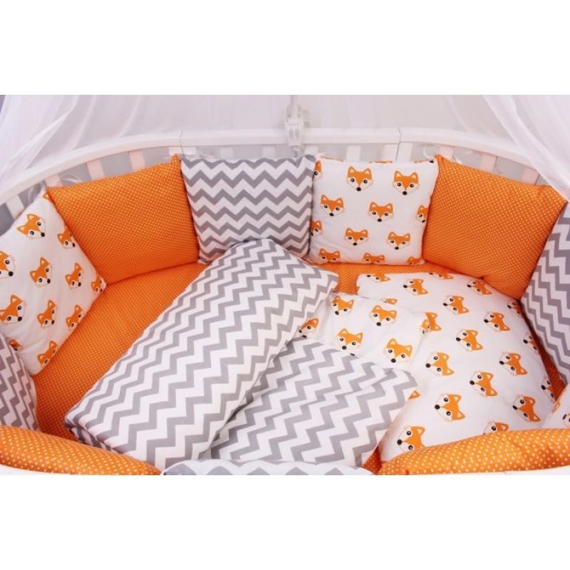 Бортик в кроватку AmaroBaby Lucky 12 подушек