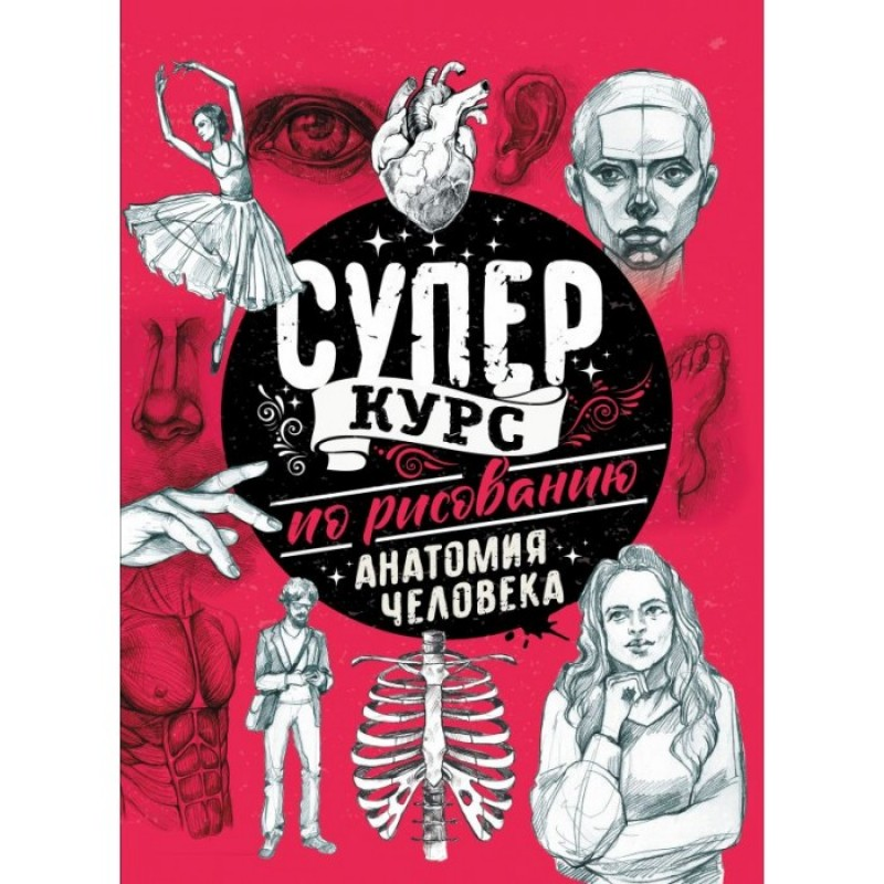 Издательство АСТ Суперкурс по рисованию Анатомия человека