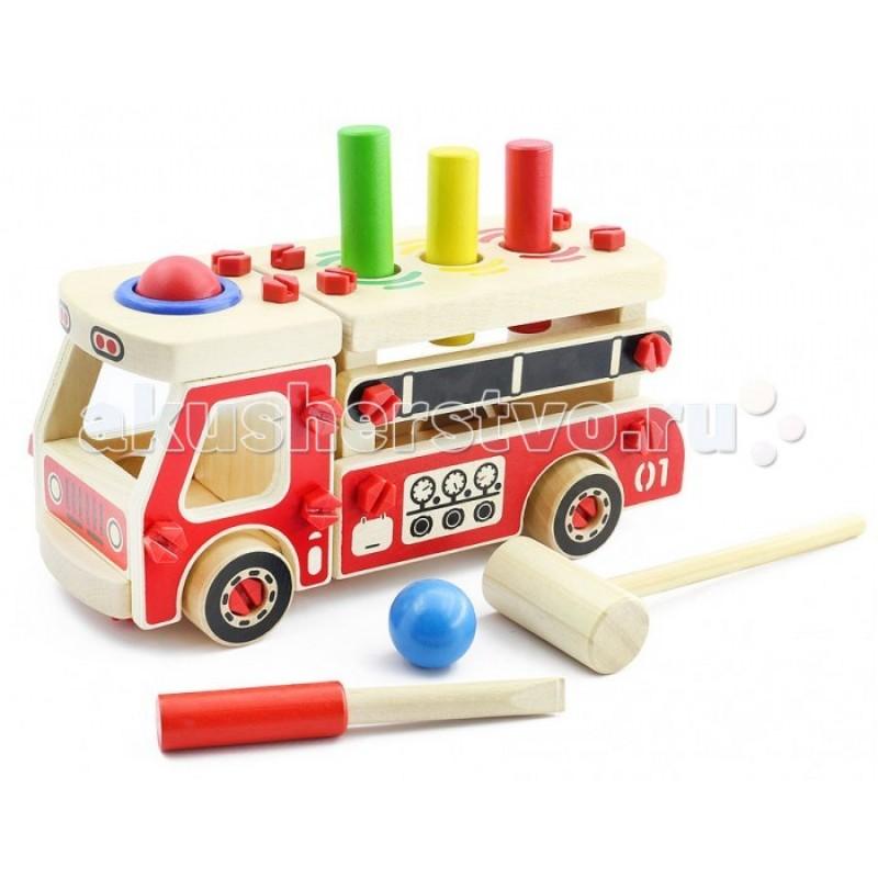 Деревянная игрушка Мир деревянных игрушек Конструктор Машина