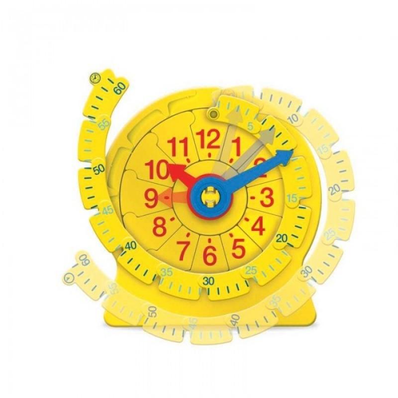 Learning Resources Учимся определять время Часовой пазл большой