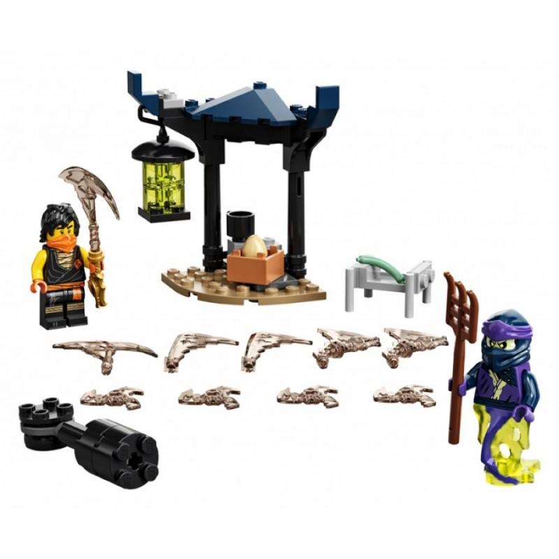 Конструктор Lego Ninjago Легендарные битвы: Коул против Призрачного воина