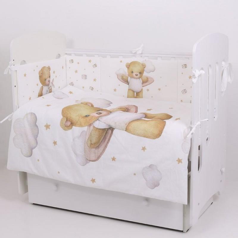Комплект в кроватку Топотушки Лучик (6 предметов)