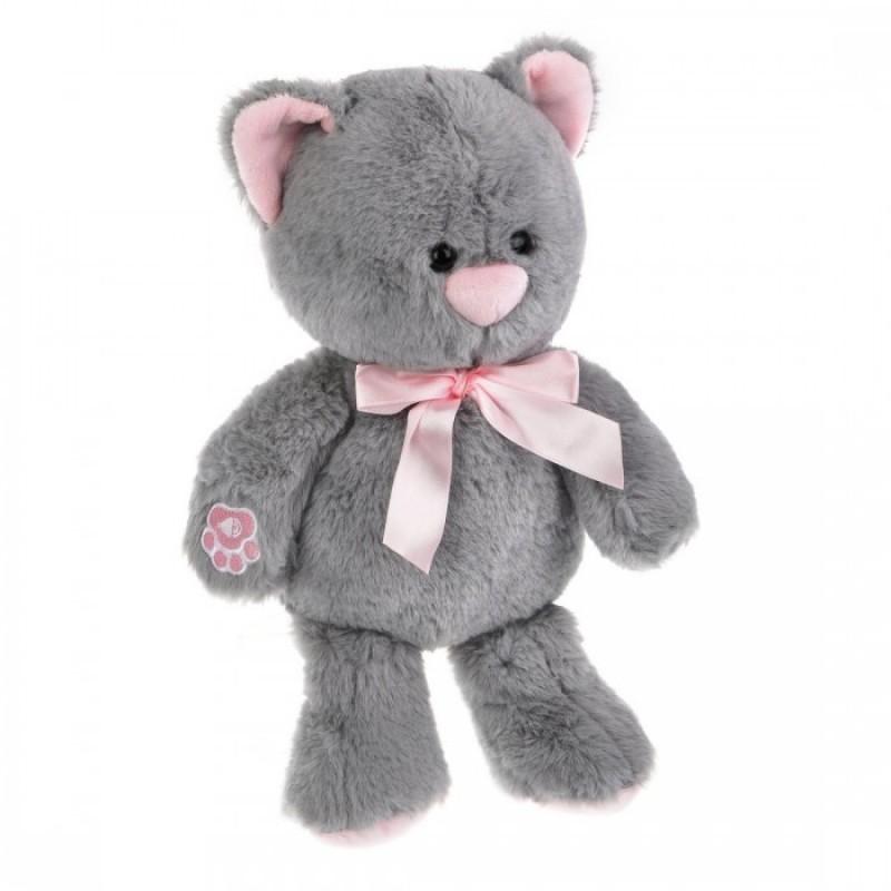 Мягкая игрушка Fluffy Family озвученная Котенок Дымка 23 см