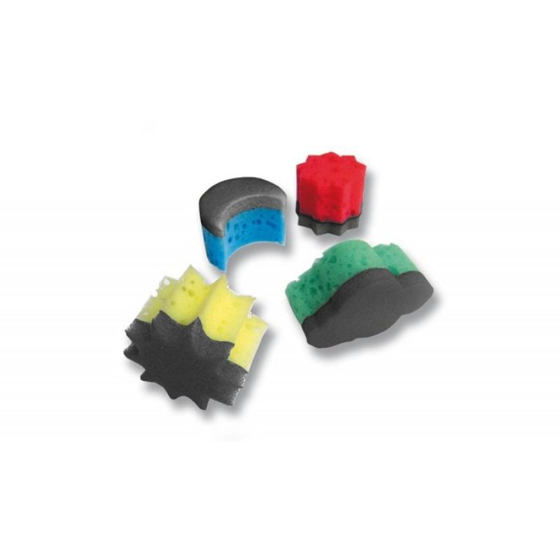 Jovi Губки для пальчиковых красок 16 шт.