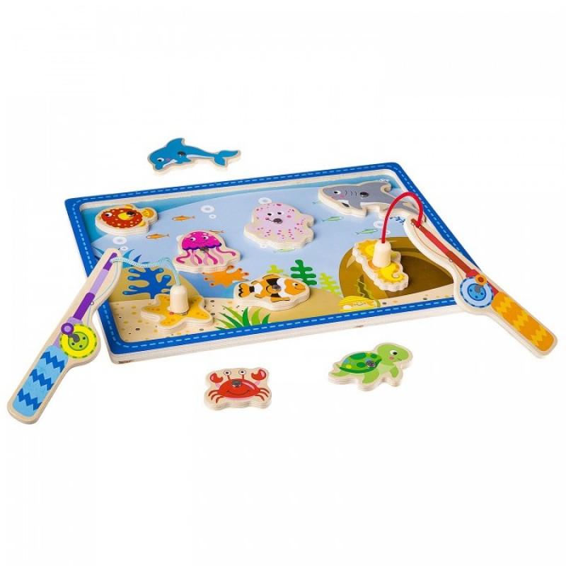 Деревянная игрушка Bondibon Рыбалка ВВ2193