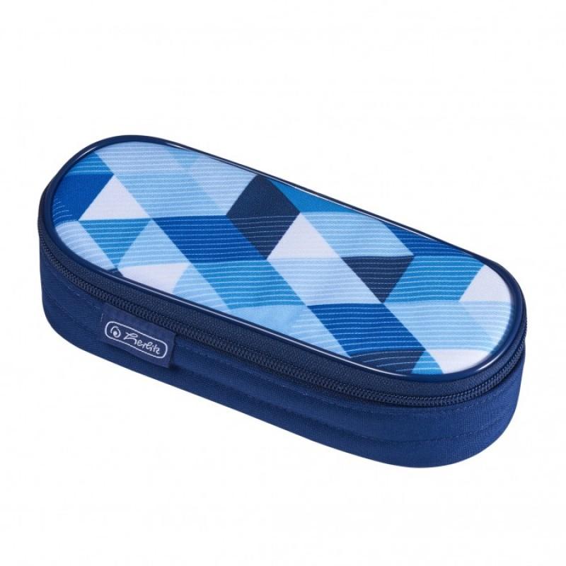 Herlitz Пенал-косметичка Case Blue Cubes