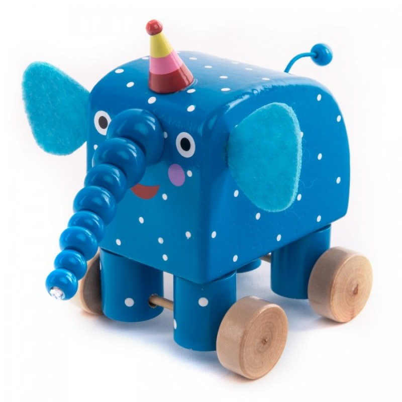 Деревянная игрушка Деревяшки Фигурка Слон Ду-Ду