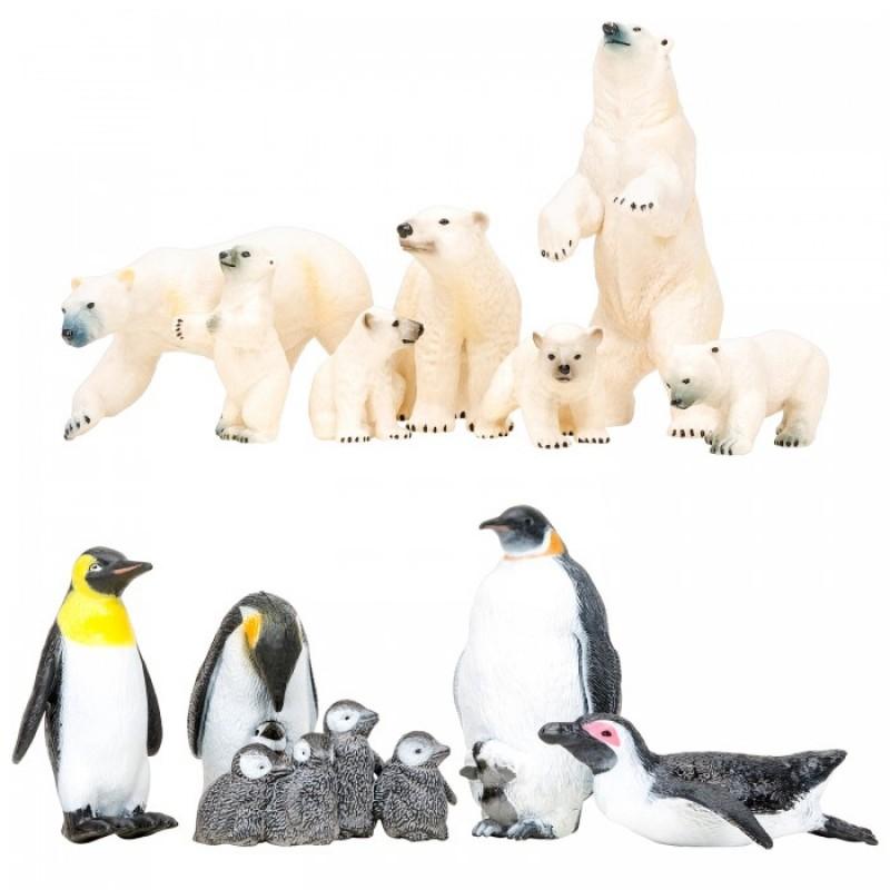 Masai Mara Набор Фигурок Мир морских животных (белые медведи, пингвины)