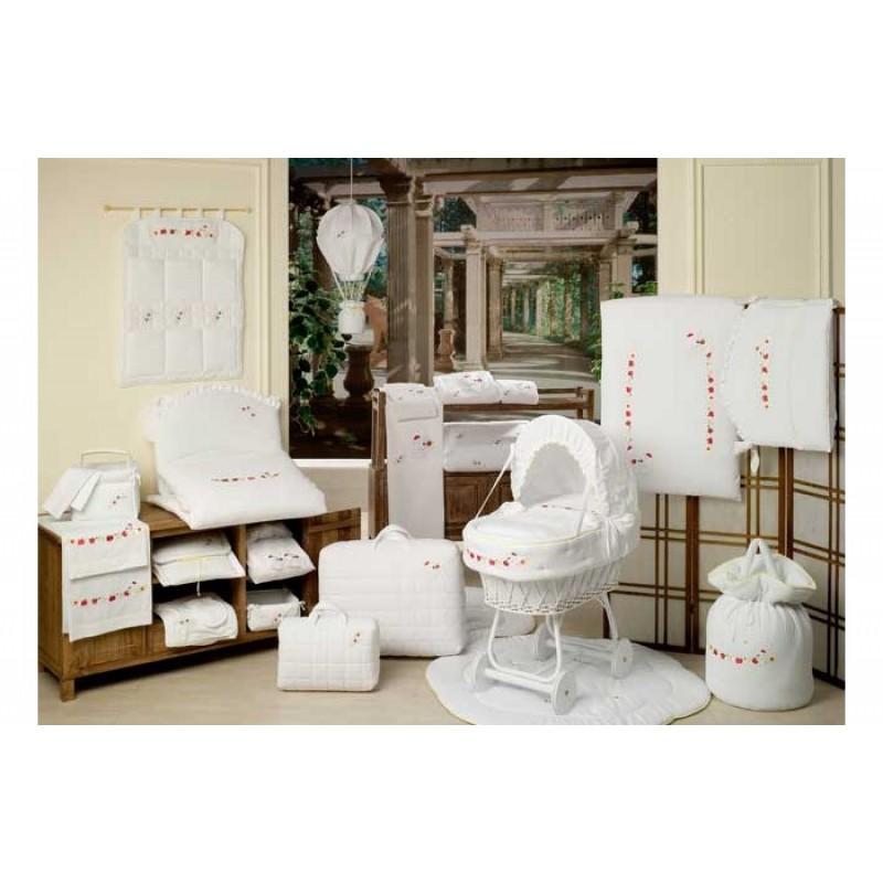 Балдахин для кроватки BabyPiu Le Chicche - Балдахин для кроватки с бантом и вышивкой
