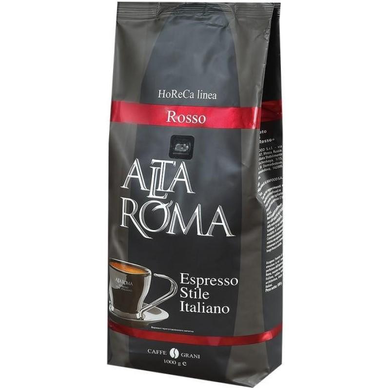 Altaroma Кофе зерновой Rosso 1 кг