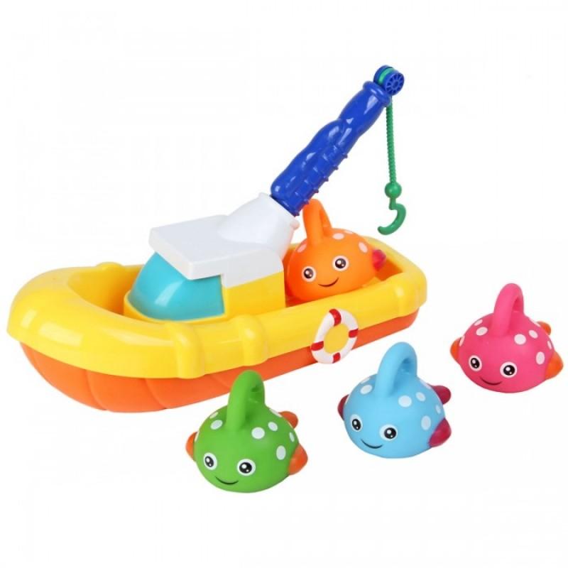 Ути Пути Игрушка для ванны Рыбацкая лодка