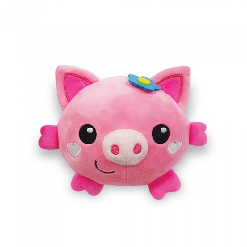 Мягкая игрушка Азбукварик Плюшики Свинка Люленьки
