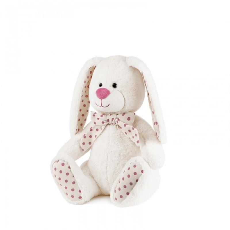 Мягкая игрушка Maxitoys Luxury Зайка Дотти с бантом 20 см