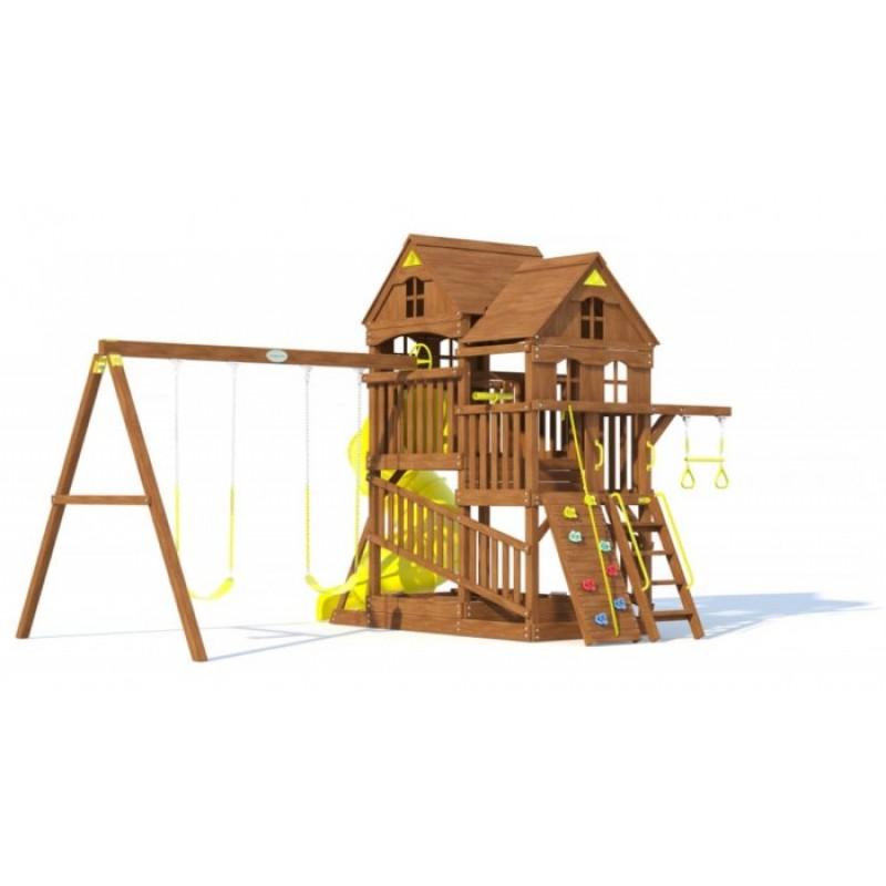 MoyDvor Детская площадка Панорама с трубой