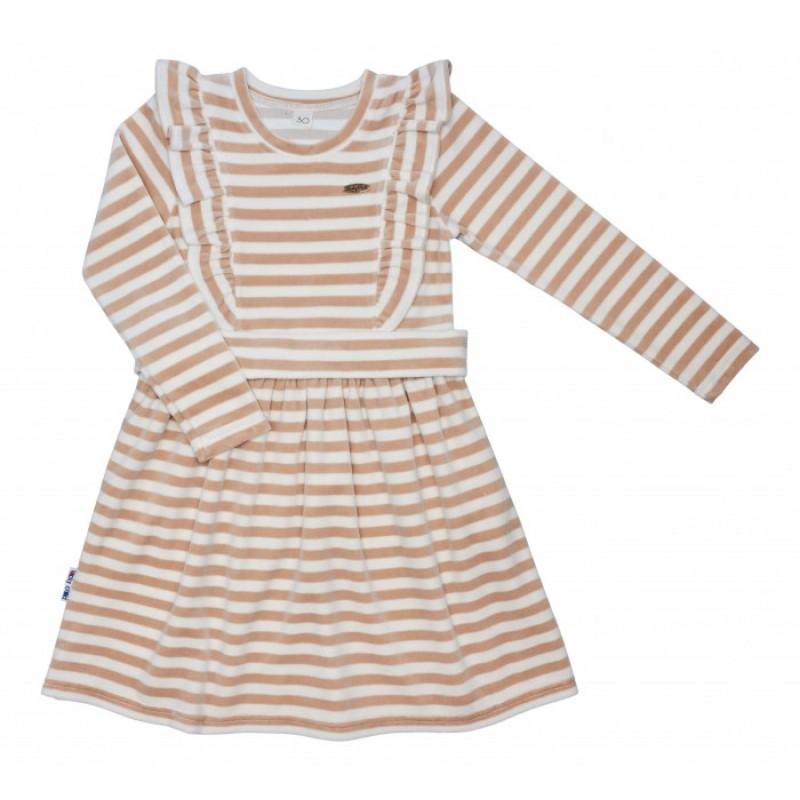 Lucky Child Платье в полоску с оборками