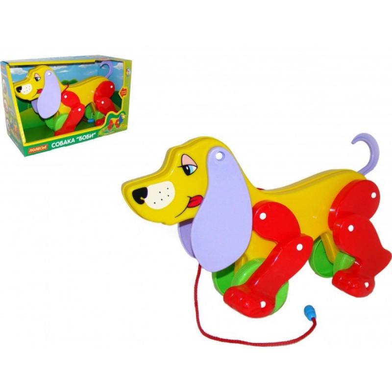 Каталка-игрушка Полесье Собака Боби