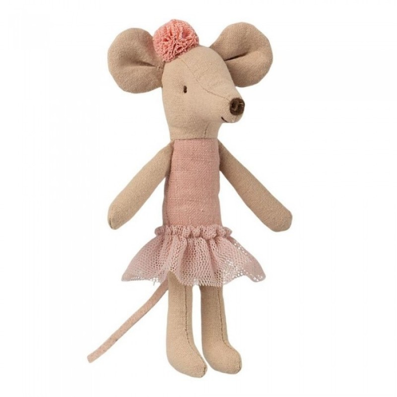 Мягкая игрушка Maileg Мышка старшая сестра Балерина