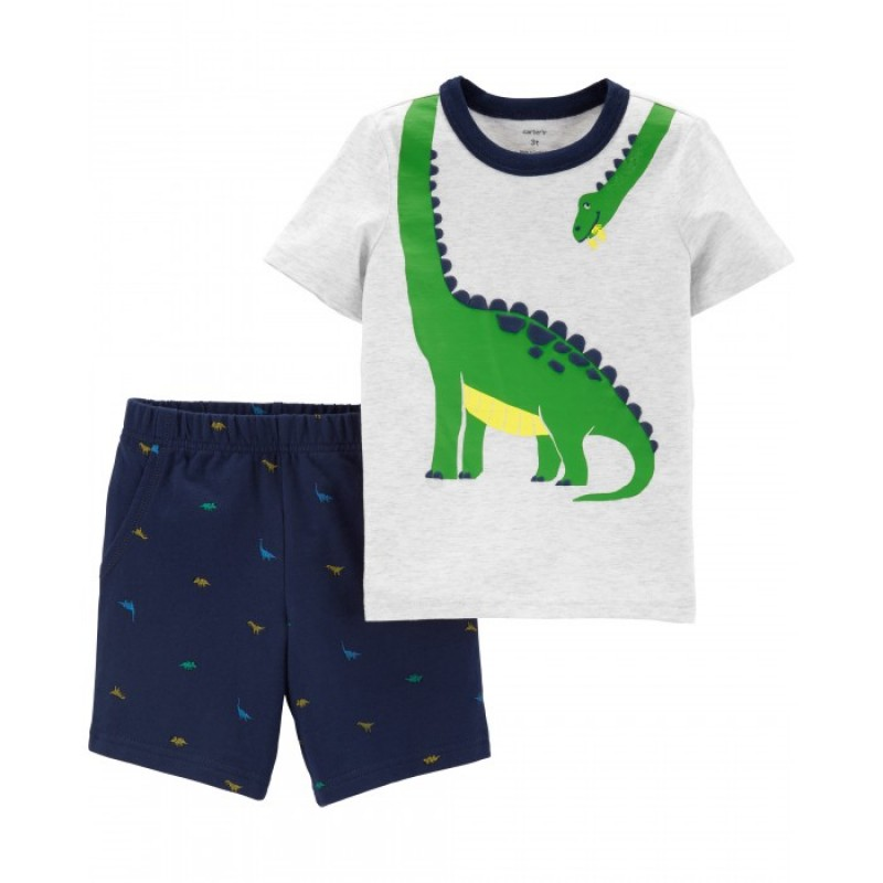 Carter's Комплект для мальчика (футболка, шорты) 229G932