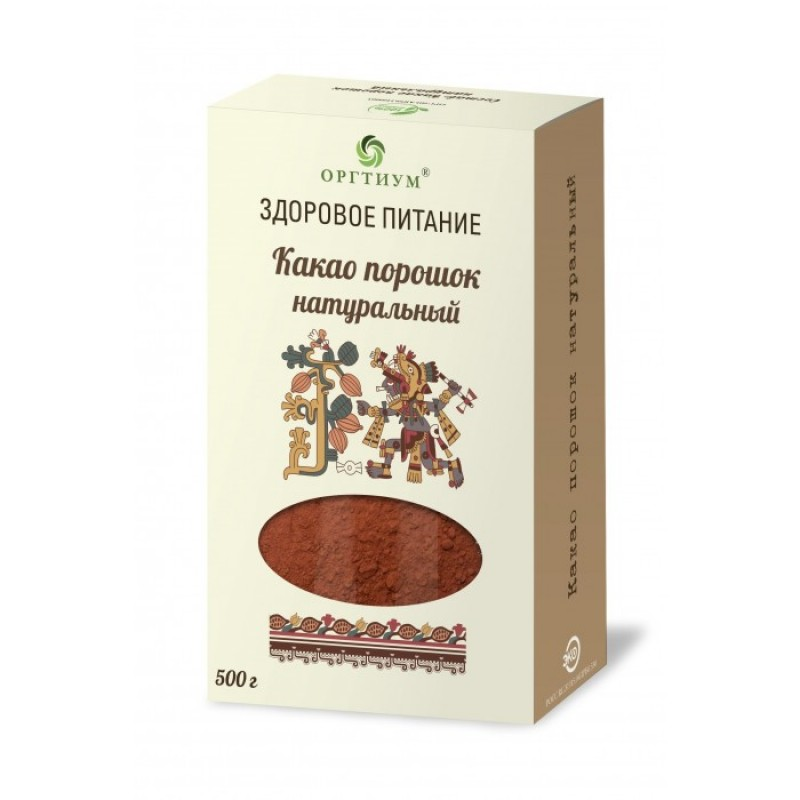Оргтиум Какао порошок натуральный 500 г