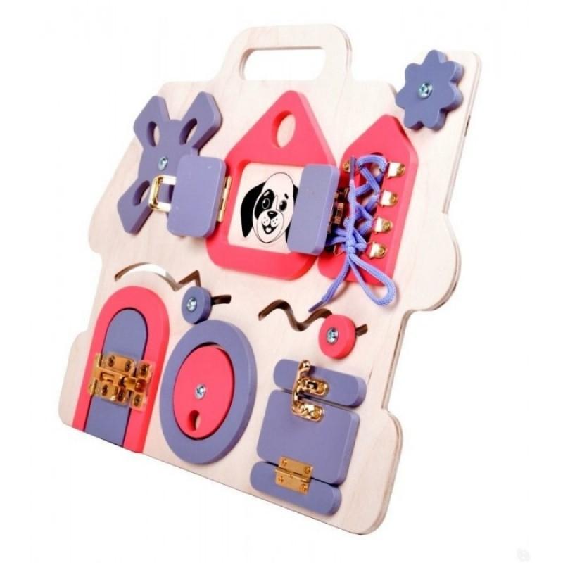 Деревянная игрушка Десятое королевство Бизиборд Домик
