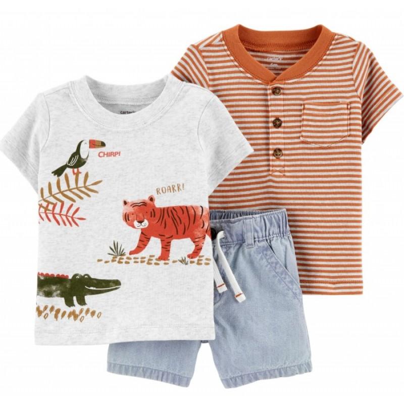 Carter's Комплект для мальчика (футболка, шорты) 1H397310