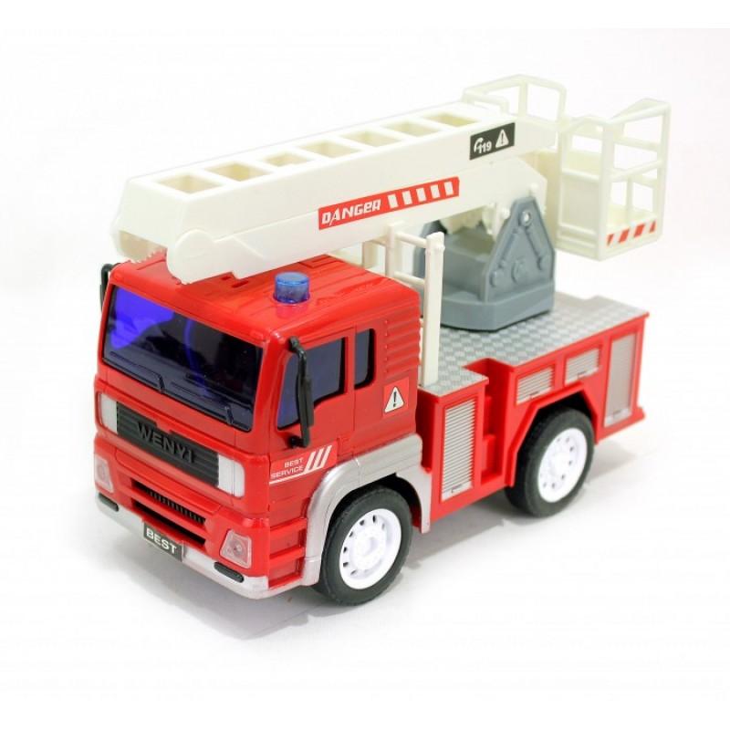 Drift Машина на радиоуправлении грузовик - пожарный с выдвижным краном