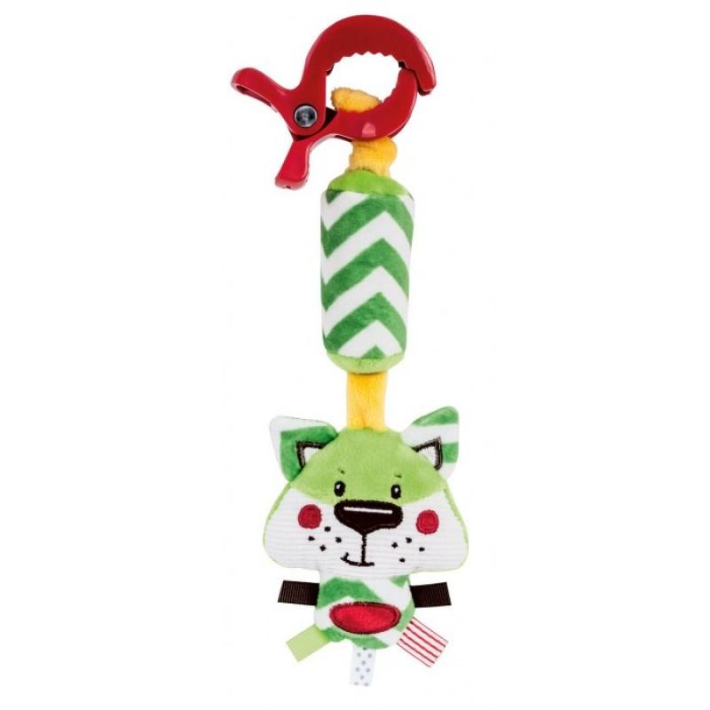 Подвесная игрушка Canpol с колокольчиком Forest Friends Лисёнок 68/043