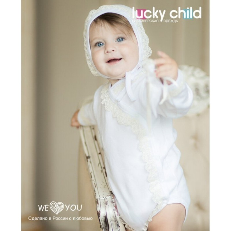 Lucky Child Боди крестильное