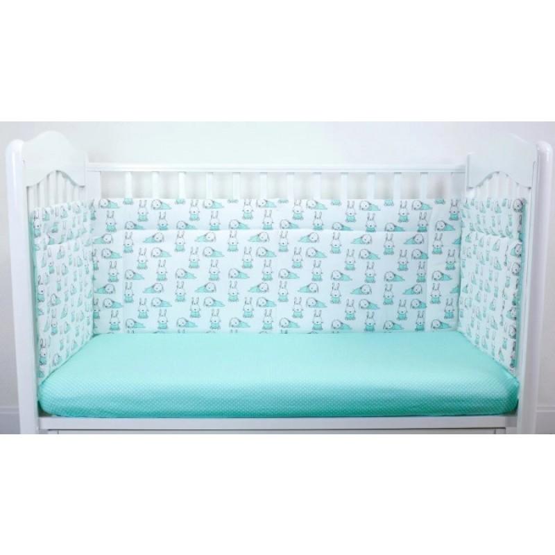Бортик в кроватку Magic City Ушастый лежебока 45x60 см