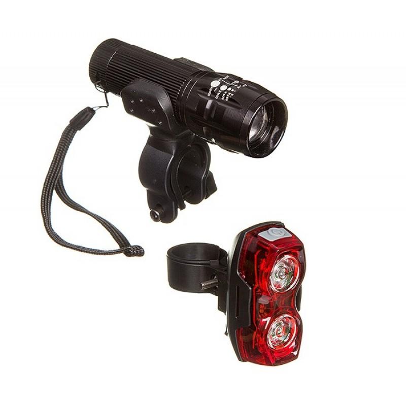 STG Комплект фонарей: передний FL1203 и задний TL5424