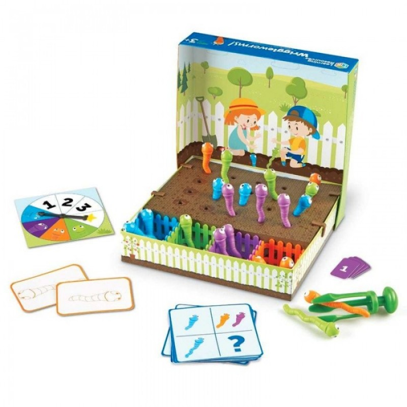 Развивающая игрушка Learning Resources Непослушные червячки
