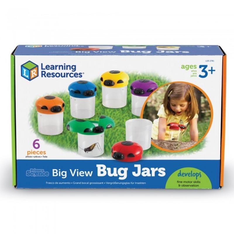 Learning Resources Набор Баночки Божья Коровка для насекомых