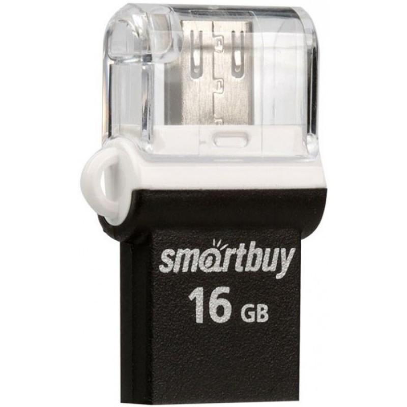 Smart Buy Память Flash Drive Otg Poko USB 2.0 16GB