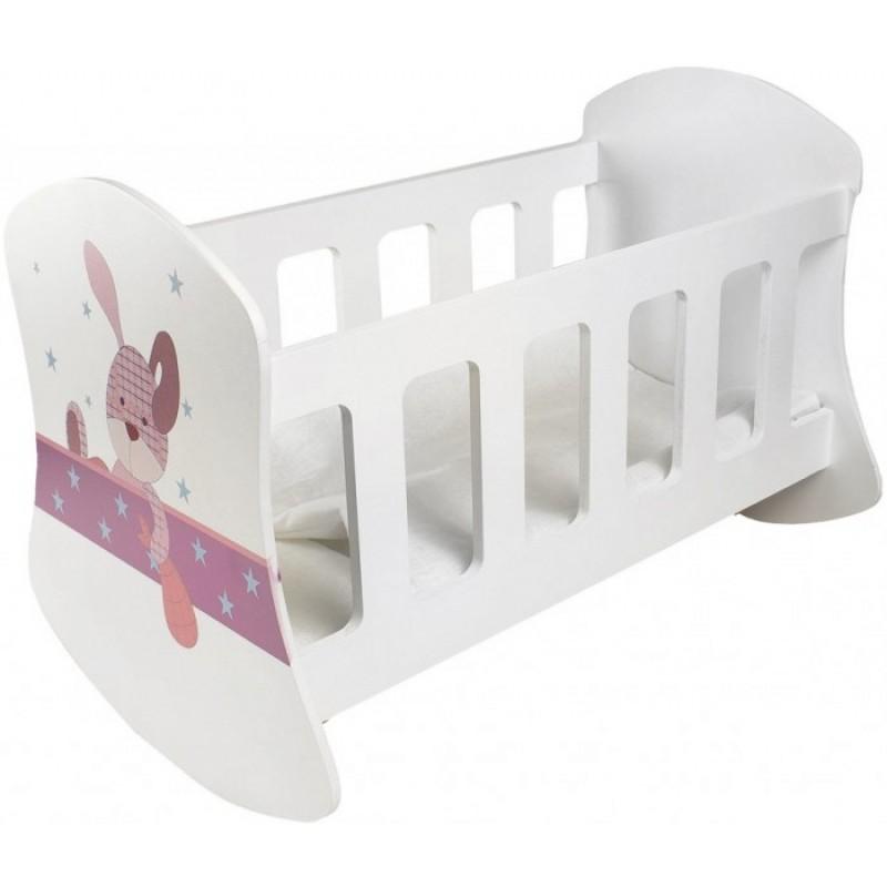 Кроватка для куклы Paremo Люлька Крошка Зи
