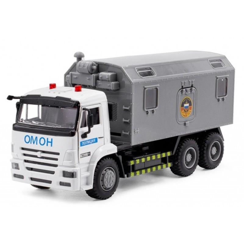 Serinity Toys Инерционная машинка грузовик Полиция Омон