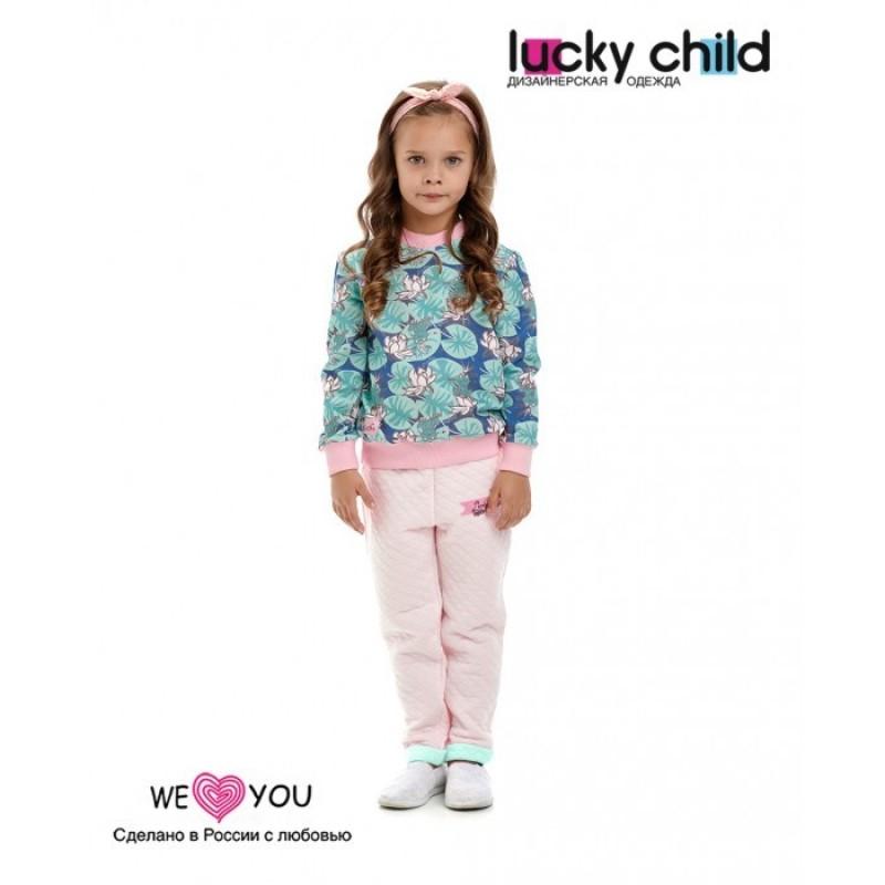 Lucky Child Брюки для девочки Принцесса сказки 45-11