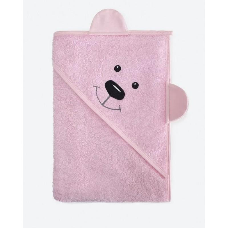 BabyBunny Полотенце с уголком Мишка 100х100