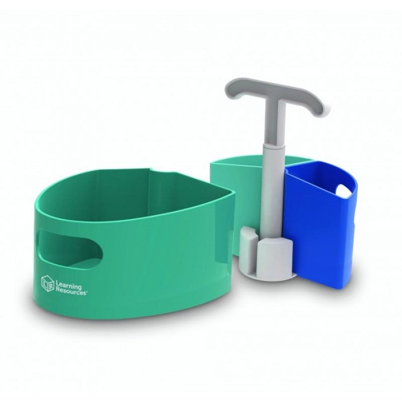 Learning Resources Подставка для ванных принадлежностей Станция дезинфекции