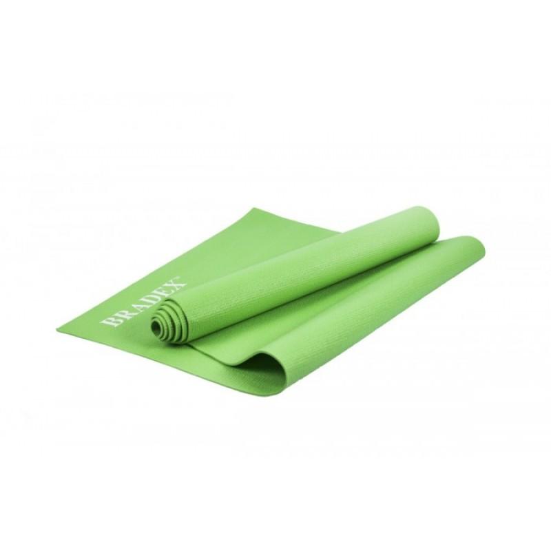 Bradex Коврик для йоги и фитнеса 173х61х0.4 см