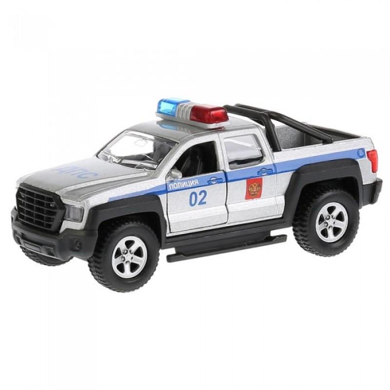 Технопарк Машина Пикап Полиция инерционная 13,3 см
