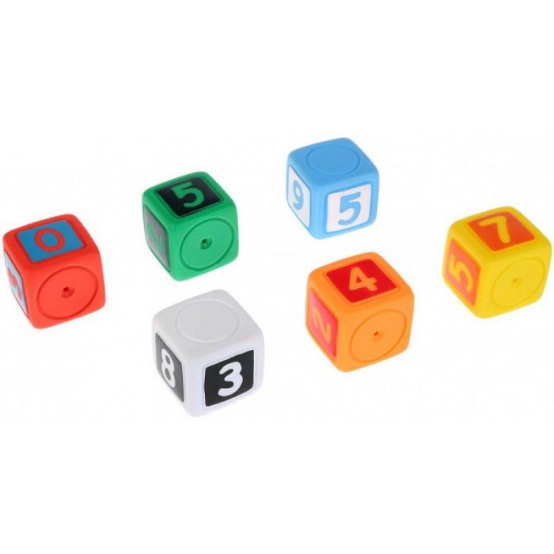 Играем вместе Игрушки для купания Кубики с цифрами