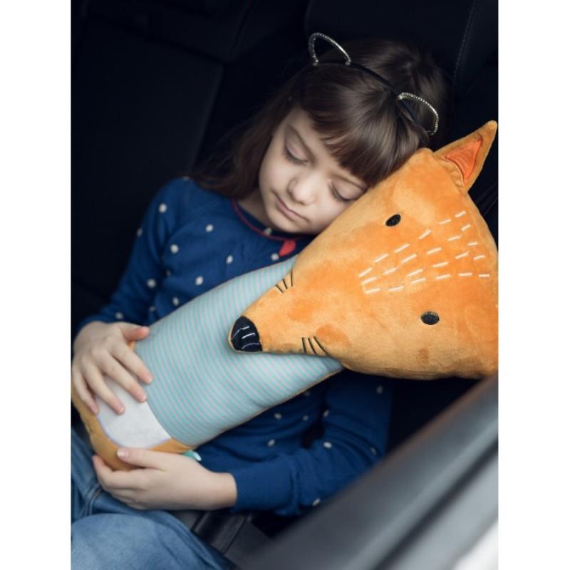 Клювонос Подушка для сна в автокресле Лисичка