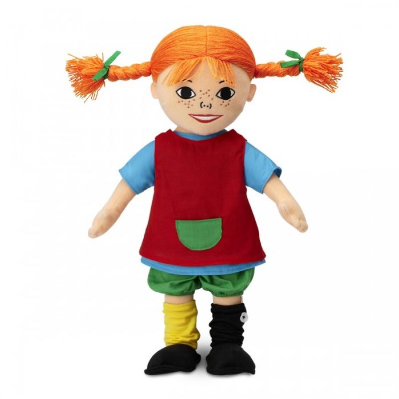 Мягкая игрушка Micki Кукла Пеппи 40 см
