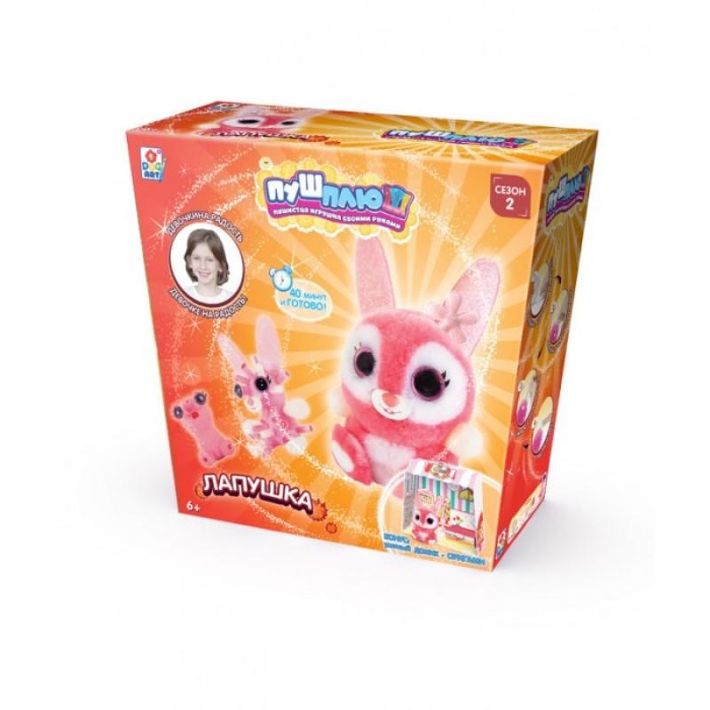 1 Toy Пуш-Плюш Набор для творчества Лапушка