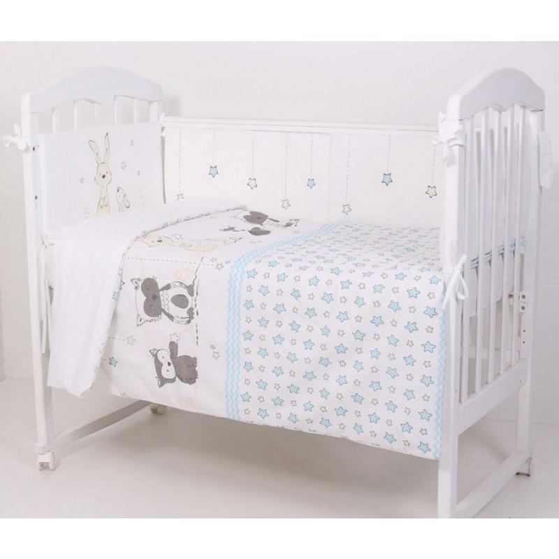 Комплект в кроватку Топотушки Друзья (6 предметов)