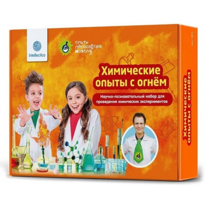 Intellectico Набор для опытов химический с огнем